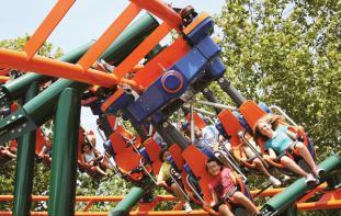Frontier City roller coaster