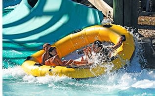 White Water Bay water slide