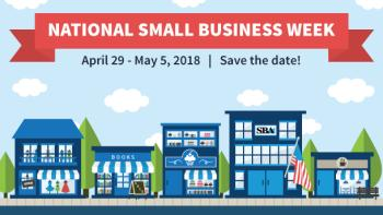 National Small Business Week poster