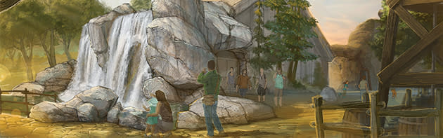 Rendering of the new Liichokoshkomo' area at the National Cowboy & Western Heritage Museum