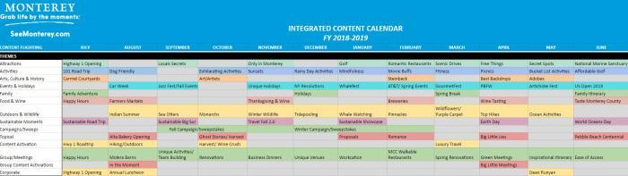 18-19 Content Calendar