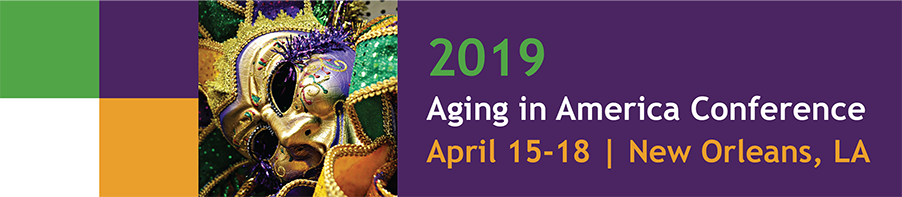 Aging in America Conference 2019
