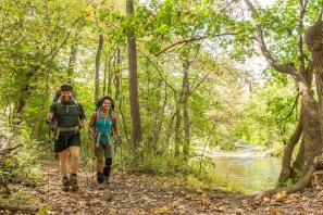 Couple Hiking Appalachia Trail