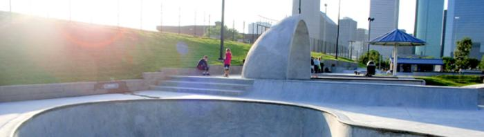 Lee and Joe Jamail Skate Park
