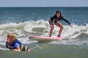 WB kids camps IndoJax surf