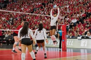 NCAA Volleyball players