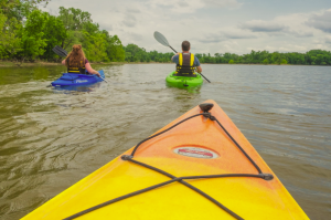 Tuttle Creek State Park Kayak