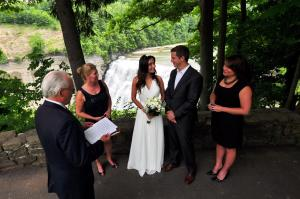 Letchworth State Park Wedding ©Larry Tetamore