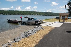 Otisco Lake Boat Launch
