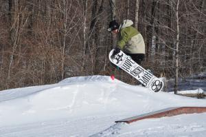Mt Peter snowboarder