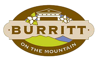 This is a picture of a house on a mountain as used is the Burritt on the Mountain logo.