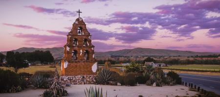 Mission San Miguel in SLO CAL
