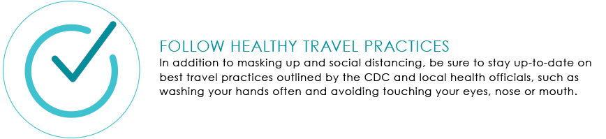 Follow Healthy Travel Graphic