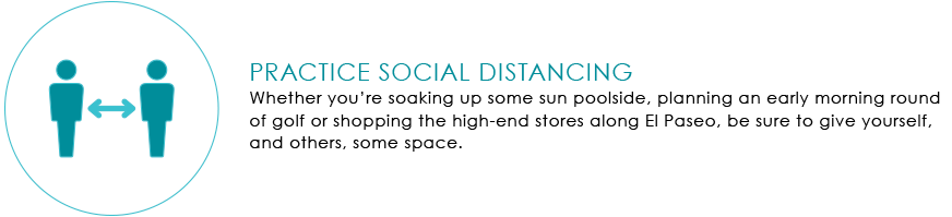 Practice Social Distancing Graphic