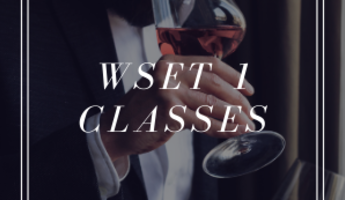 CASS WINERY WSET 1 CLASSES