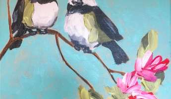 Spring Birds Painting at Penman Springs