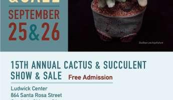 CCCSS Show & Sale - Central Coast Cactus & Succulent Society 15th Annual Show & Sale