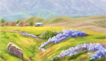 CANCELLED   Carrizo in Spring! Paintings by SLOPE