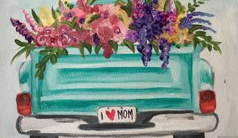 Mother's Day Paint and Sip Event