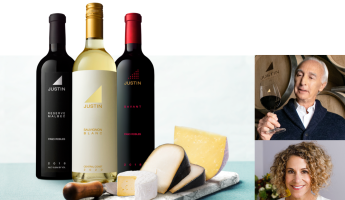 JUSTIN Wine and Cheese Tasting