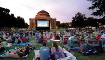 Movies in the Garden at Sunken Gardens