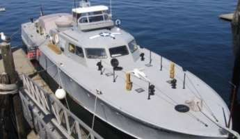 WWll Crash Rescue Boat in Morro Bay!