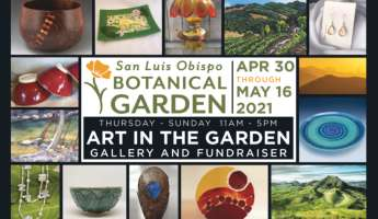 Art in the Garden, Gallery and Fundraiser at SLO Botanical Garden