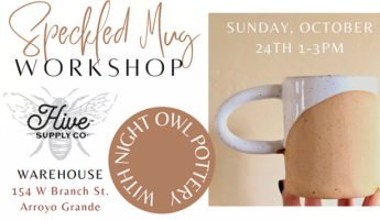 Speckled Mug Workshop