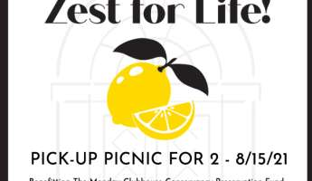 ZEST FOR LIFE: PICK-UP PICNIC FOR 2