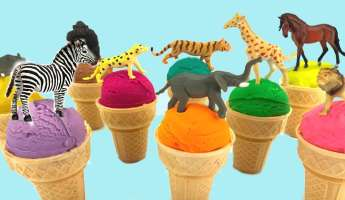 Ice Cream Zoofari!