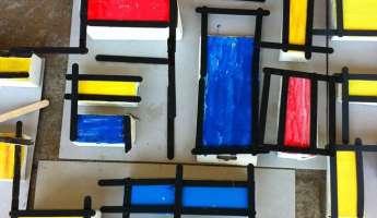 Children's Art - Meet the Masters - Piet Mondrian