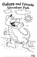 Gators and Friends Coloring Page