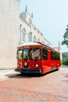 Trolley at Old Capitol Building