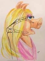 Danny Allain artwork, Ms. Piggy