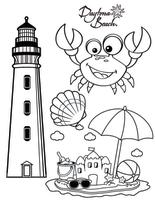 DB Coloring Page 2