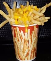 Beefaroo cheese fries