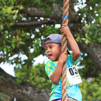 Guam Ko'Ko' Kids Fest 2020 - Rope Climb
