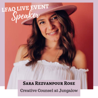 Quitter Club Live Speaker Sara Rose
