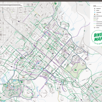 City of Irvine bike map