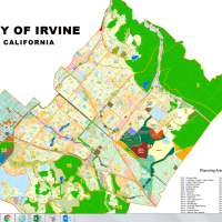 City of Irvine map