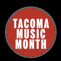 Tacoma Music Month passport stamp