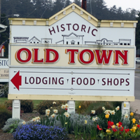 Historic Old Town Sign