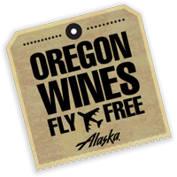 Oregon Wines Fly Free Alaska Airlines