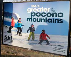 14/15 Platform Poster - Shawnee Mountain - Small