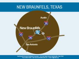 New Braunfels Map-City