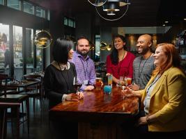 Waterleaf Gathering at Bar