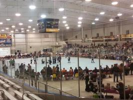 busy rink at Bill Gray's Iceplex in Rochester, NY