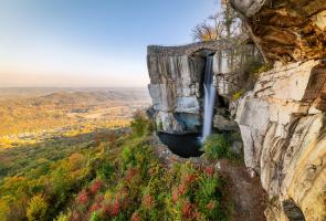 Rock City Lover's Leap-High Falls