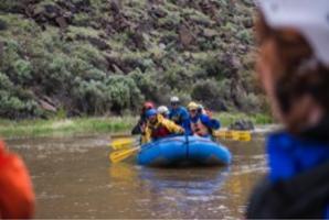 Taos rafting