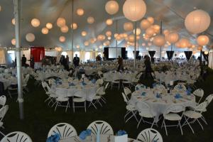 Lobester Fest Tables at GCVM